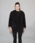 Lulu Black Short Poodle Jacket