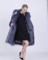 Anna Coat in Blue